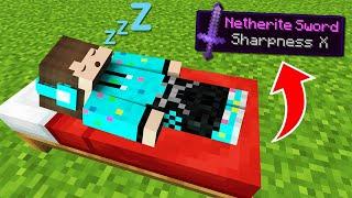 Download Aku Tamatin Minecraft Tapi Hanya Dengan Tidur Dan Bermimpi !