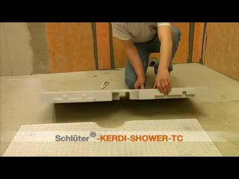 Schlüter Kerdi Shower TC - YouTube