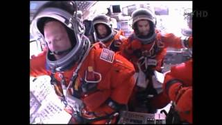 Space Shuttle Cockpit video STS-135 Launch ..onboard ..