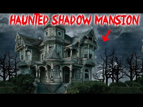 HAUNTED SHADOW HOUSE // GHOST ACTIVITY IN A HAUNTED HOUSE! | MOE SARGI