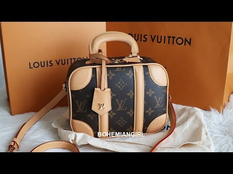 LOUIS VUITTON MINI LUGGAGE BB MONOGRAM UNBOXING