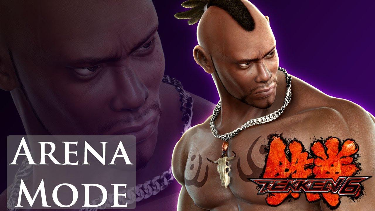 Tekken 6 Arena Mode Bruce Irvin Youtube