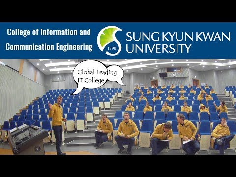 Sungkyunkwan University - College of ICE, Promotional video 2017, SKKU