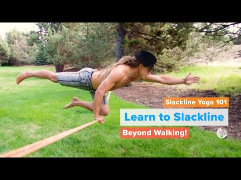 Slackline Yoga 101 | YogaSlackers