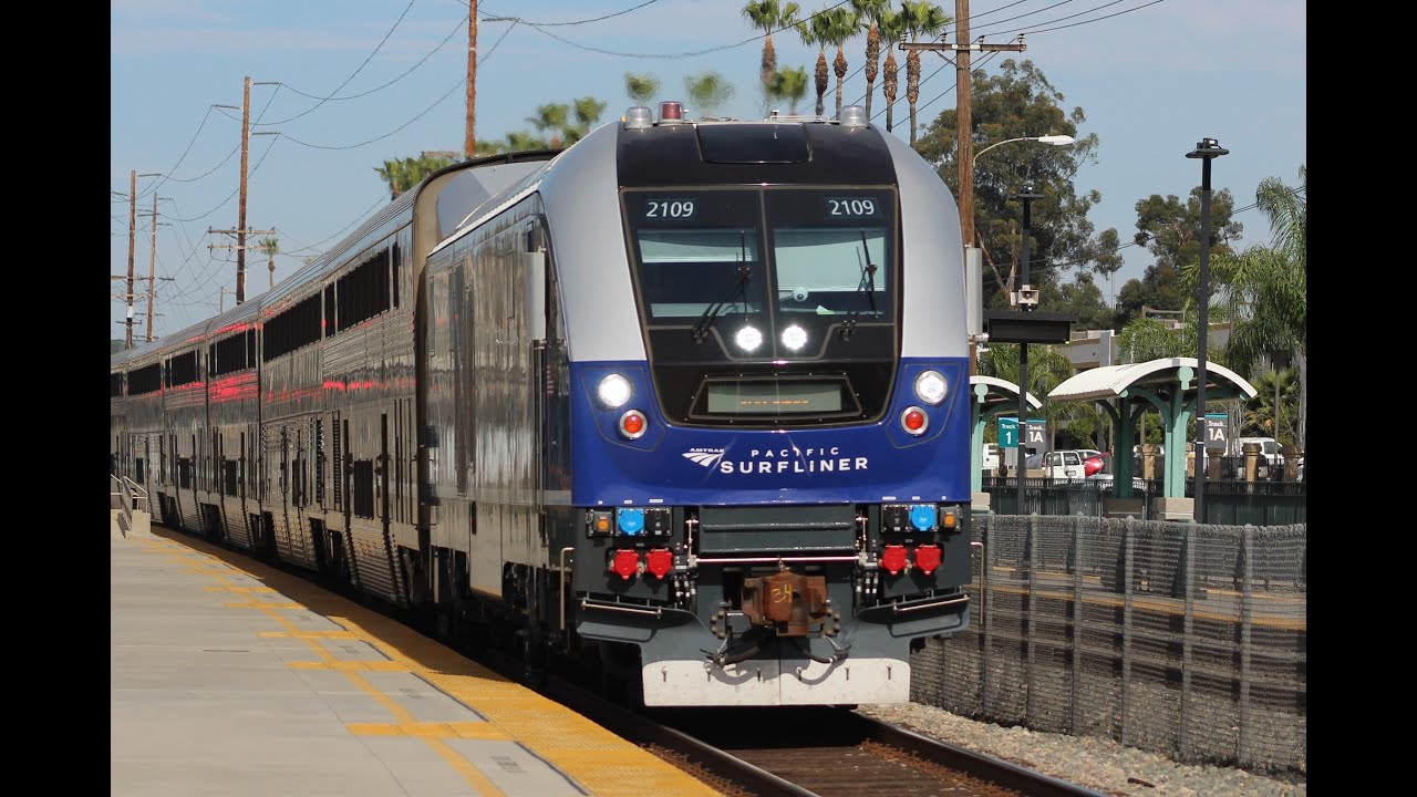 Brand New pacific Surfliner Siemens SC-44 Chargers