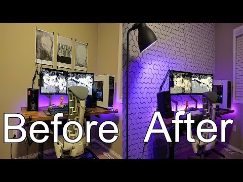 Home Office Setup Decor Ideas | 3 DIY Tips for Wall Treatments