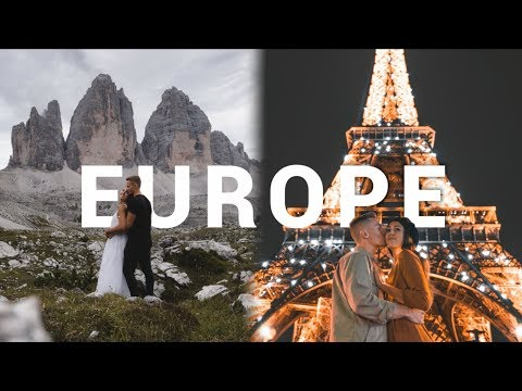 A ROADTRIP IN EUROPE (Cinematic Video) ∙ Fuji X-T3 in 4K 60 FPS