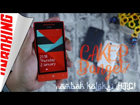 CUMA 300-REBU! Unboxing HTC Windows Phone 8S Buat Nambah Koleksi Hape Antik!