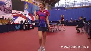 Baixar Vishniakova-Kandibina.Teams quarterfinale.Russian National table tennis championship 2018.FHD