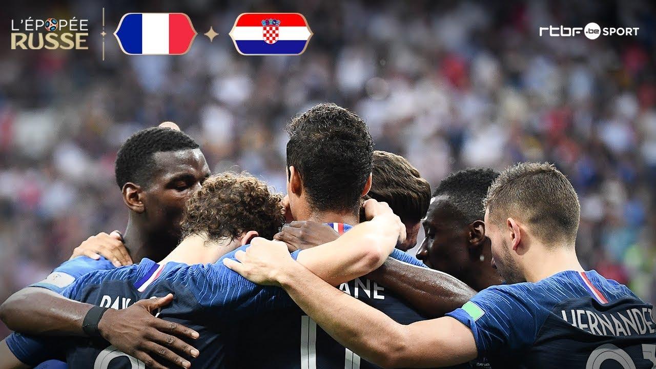 France | Croatie (4-2) Résumé du match
