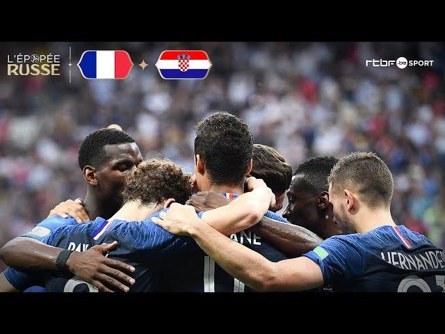 France   Croatie (4-2) Résumé du match