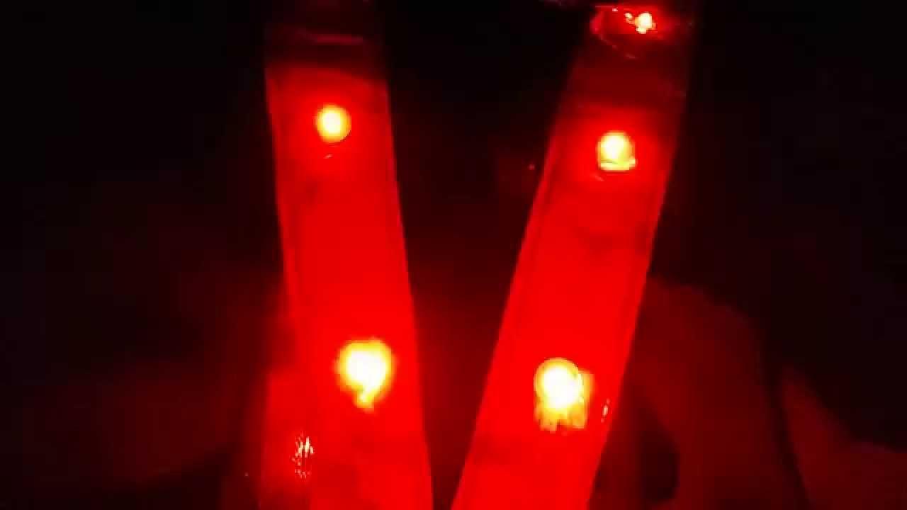 LED hesje \'s avonds in het donker - YouTube