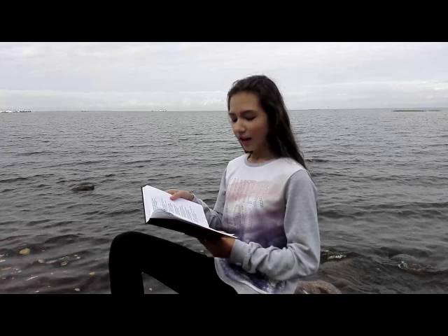 Изображение предпросмотра прочтения – ЕлизаветаДьяконова читает произведение «У залива» И.А.Бунина