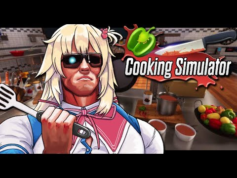 [Cooking simulator] Who can I eat today? All members? Sure! #HAACHAMA #HololiveEN0