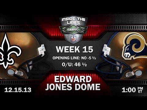 New Orleans Saints Vs St. Louis Rams NFL Week 15 Preview | NFL Picks W/ Al McMordie, Peter Loshak