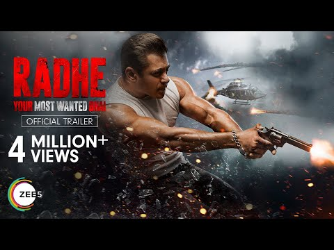 Radhe - Your Most Wanted Bhai | Trailer | Salman Khan | Disha Patani | Premieres 13th May 2021