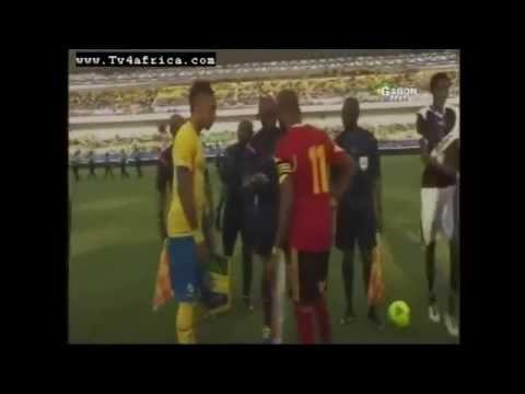 Gabon vs Anglola Eliminatoire CAN 2015