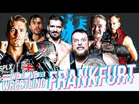 wXw We Love Wrestling Tour 2018: Frankfurt - official trailer