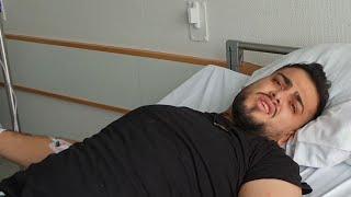 دخول جواني المستشفى   صار العيد في المشفى !!