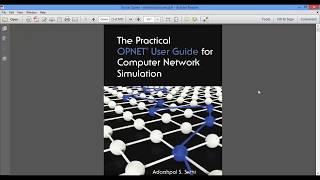فیلم معرفی کتاب آموزش نرم افزار شبیه ساز OPNET