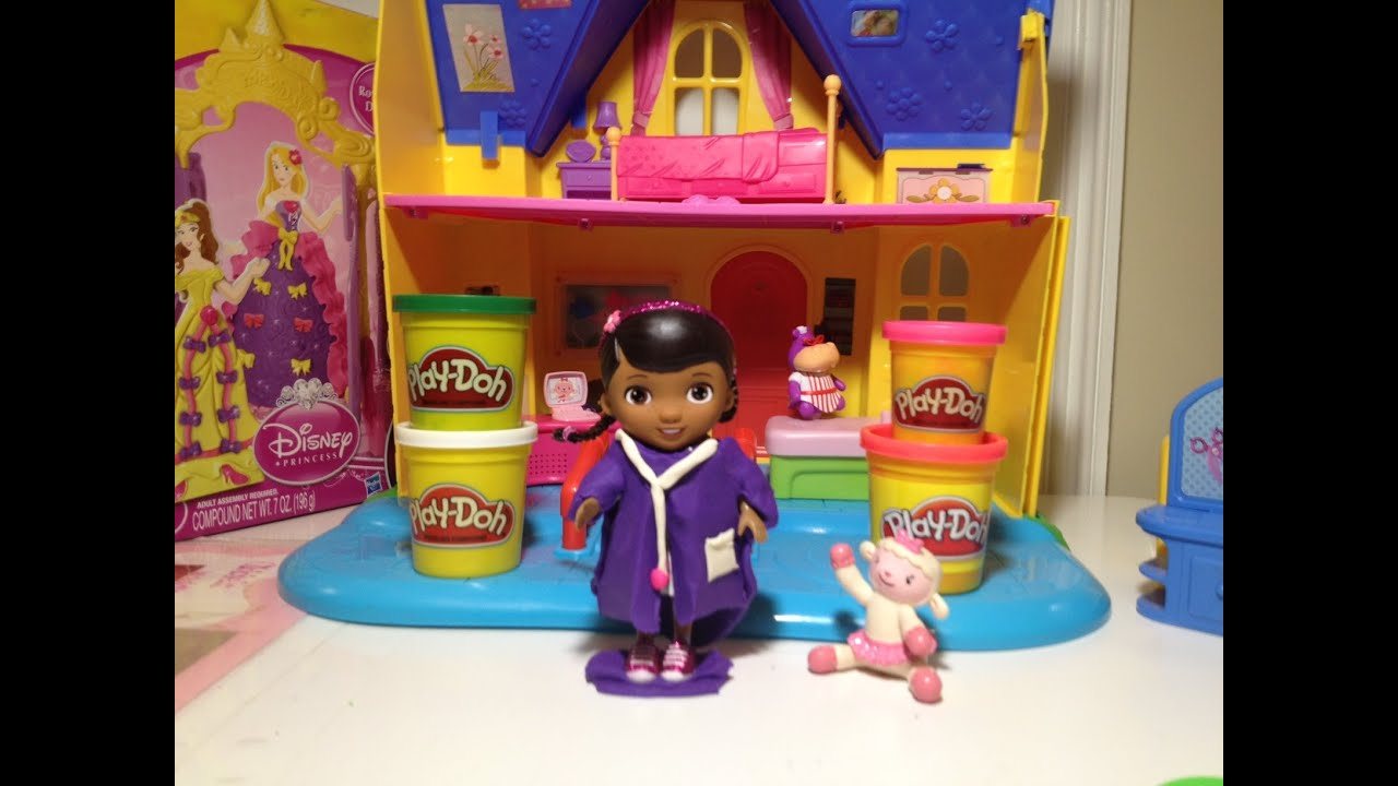 doc mcstuffins disney junior doc mcstuffins play doh tutorial