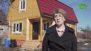 Строительство дачного дома из бруса. Отзыв | | | СК Дачник(, 2016-07-07T21:05:20.000Z)