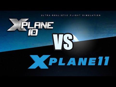 X-Plane 10 vs X-Plane 11 (Autogen/Lighting)
