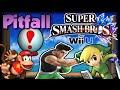 Super Smash Bros Wii U - Pitfall! - Custom Stage & Mini-Game