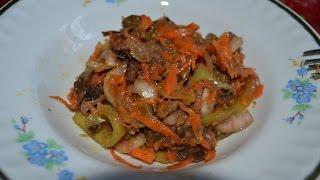 Видео-рецепт - Баклажаны по корейски - Готовим просто, быстро и вкусно
