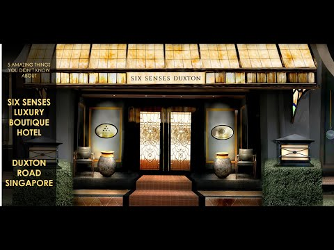 5 Amazing Things You Didn't Know About Six Senses Duxton Luxury Hotel At Duxton Road Singapore! Mp3