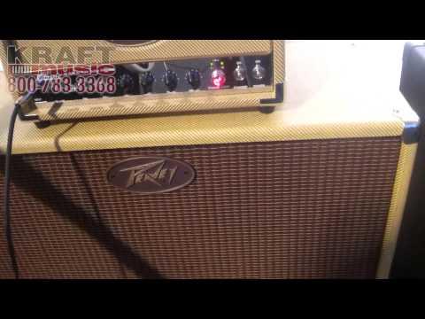 Kraft Music - Peavey Classic 20 Mini Head Amplifier NAMM 2015