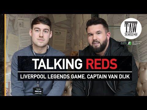 Liverpool Legends Game, Captain van Dijk   TALKING REDS