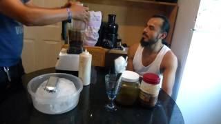 Preparando Unos Raspados De Tamarindo..