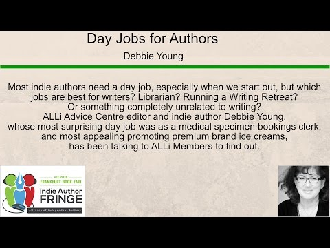 Best Day Jobs for Indie Authors
