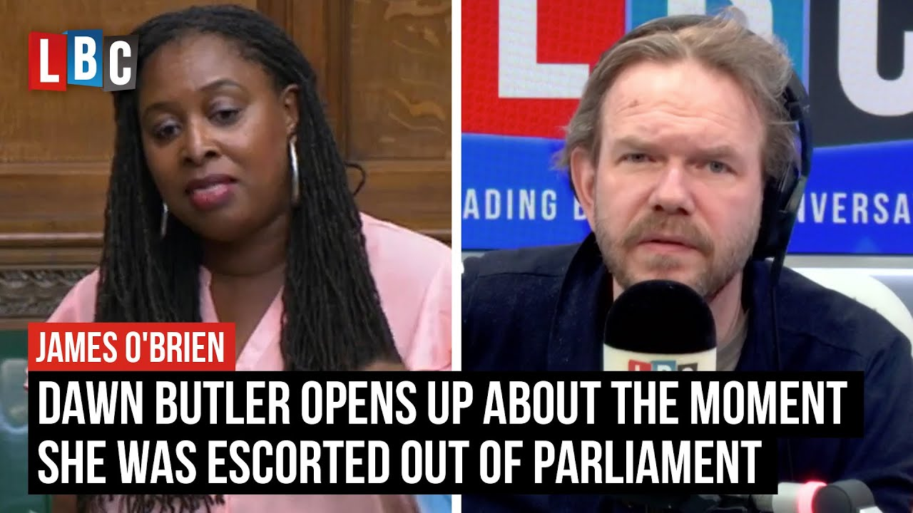 Dawn Butler opens up about the moment she was escorted out of Parliament   LBC