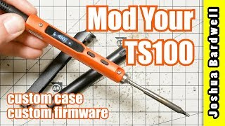 TS100 Soldering Iron | Install Ralim Firmware and Custom Colored Case Shell