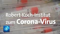 Robert-Koch-Institut informiert über Corona-Virus