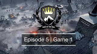 [CoH2] King of the Hill | Season 3 | Episode 5 Game 1