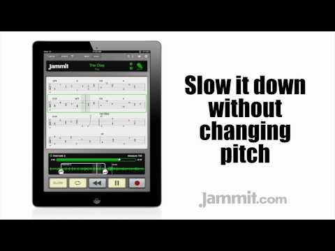 """Jammit ipad iphone app Yes Video The Clap """"learn to play guitar"""""""