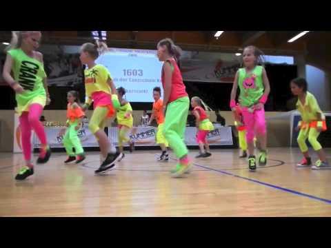 HIP-HOP-Formation der Tanzschule Kazianka