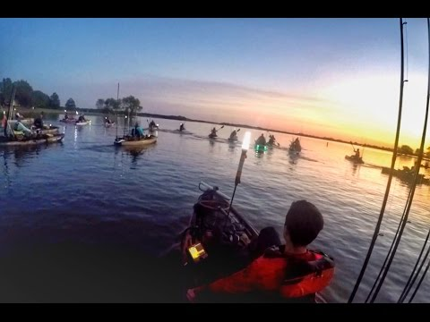 Texas Kayak Tournament: KATS Event At Coleto Creek