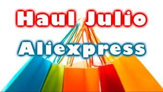 ????️Haul Julio 2019| Compras nailart en Aliexpress y tienda local| Unboxing????️