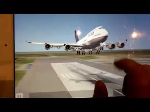 Aerofly 2 United Airlines Boeing 737-500 Landing by Ryan Hong