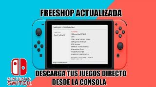 TUTORIAL FREESHOP ACTUALIZADA PARA NINTENDO SWITCH