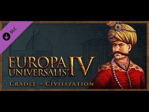 """НОВОЕ ДОПОЛНЕНИЕ! - Europa Universalis 4, """"Cradle of Civilization"""""""