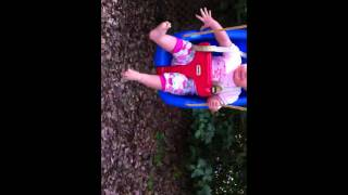 Tasha Luna On Little Tikes Baby Swing