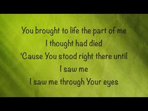 Britt Nicole - Through Your Eyes - (with lyrics) (2016)