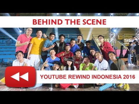 #VLOG - BEHIND THE SCENE - Youtube Rewind Indonesia 2016