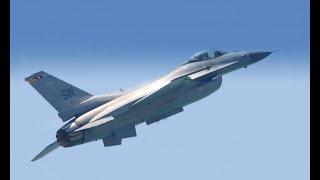 Viper F-16 Fighting Falcon - Afterburner Aerials Off Miami Beach, 2017