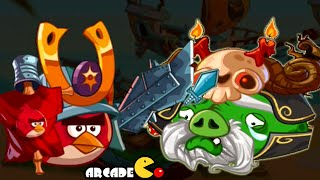Angry Brids Epic: Tuesday Challenge Dungeon Ghost Ship Team Up With Mc'Cool Gold Piggies